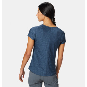 Mountain Hardwear Mighty Stripe T-shirt Femme, zinc